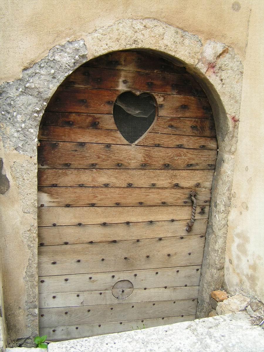 France ain trevoux for Portes en bois anciennes