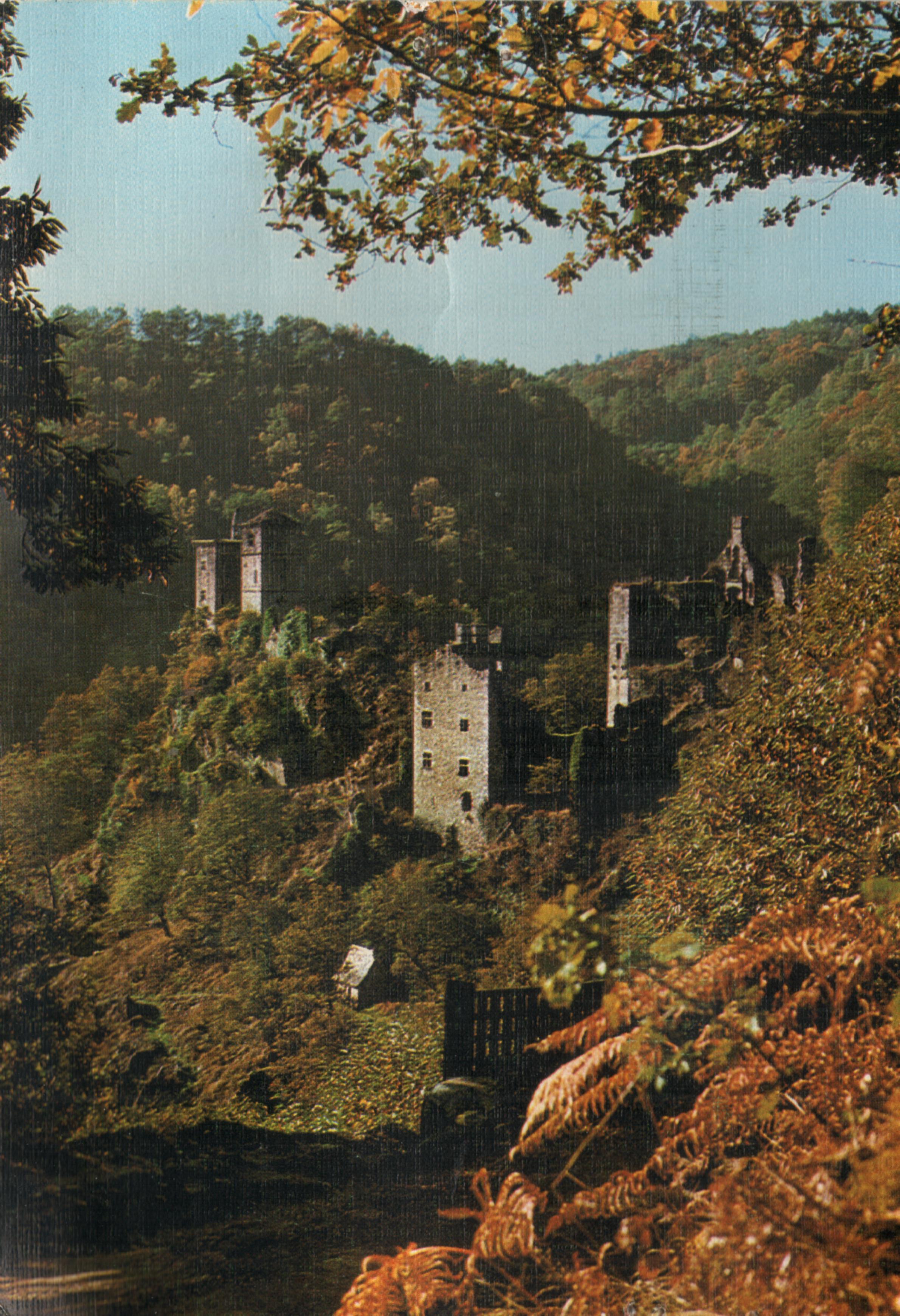 France Cantal Saint Geniez O Merle Les Tours De Merle