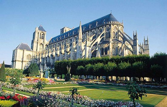 Bourges France  city photo : Bourges Cathedrale Saint Etienne Plan