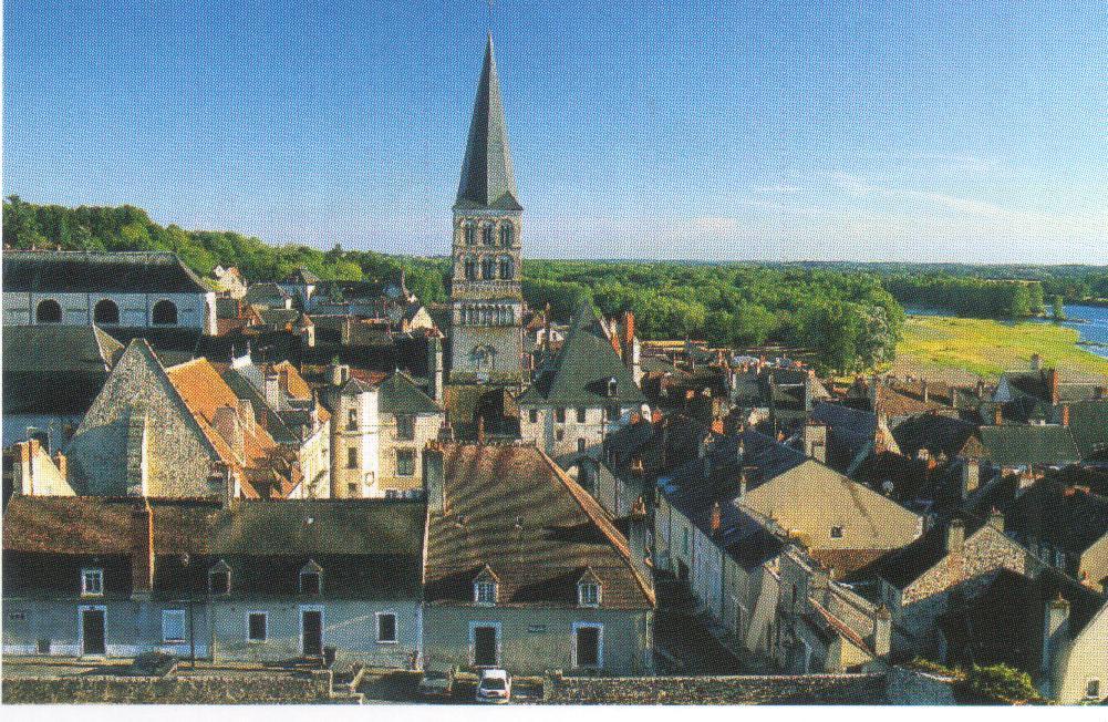 France nievre la charite sur loire eglise notre dame for Piscine la charite sur loire