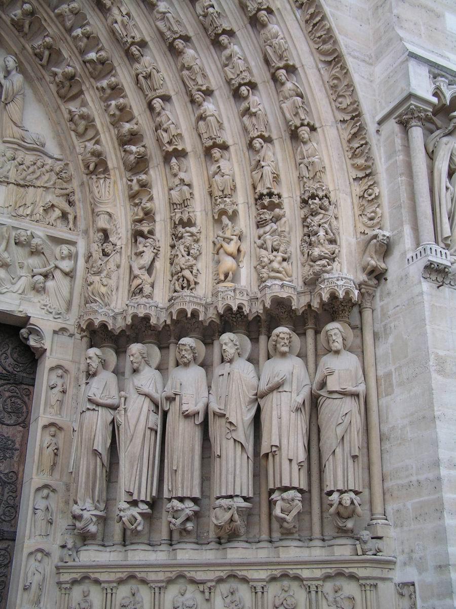 France Paris Cathedrale Notre Dame