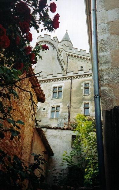 France  Vienne  Valdivienne  Chateau Et Eglise De Morthemer