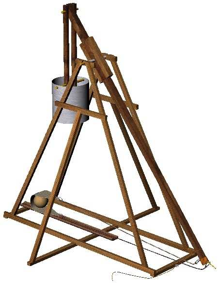 Small Trebuchet Schematics