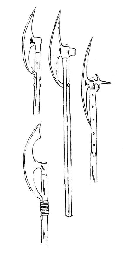 Armes et armures (glossaire) Bardiche