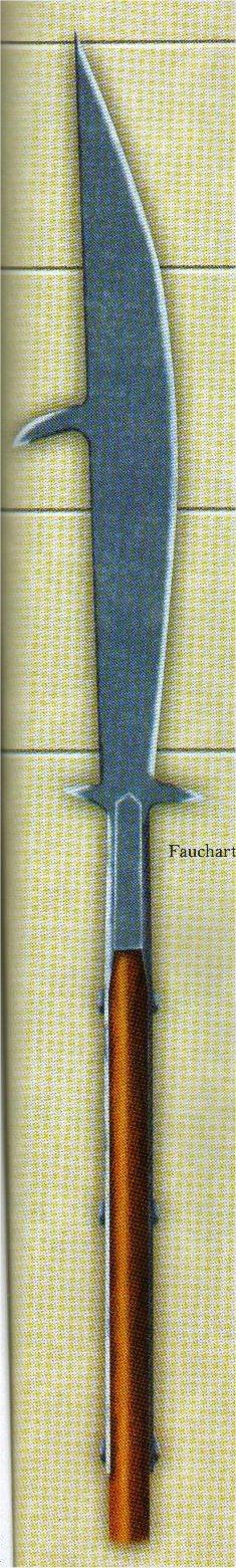 Les armes d'hast Fauchart