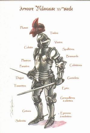 Les dessins de patrick dallanegra - Dessin armure ...