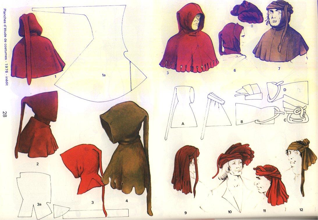 Medieval Hood Pattern